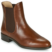 Chaussures Femme Boots Unisa BOYER Camel