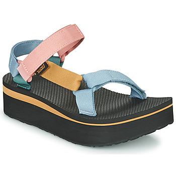 Chaussures Femme Sandales et Nu-pieds Teva FLATFORM UNIVERSAL Multicolore