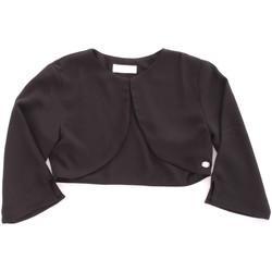 Vêtements Fille Gilets / Cardigans Byblos Blu BJ14937 Noir