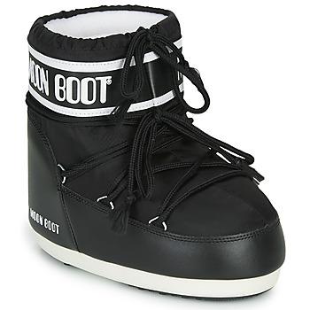 Chaussures Femme Bottes de neige Moon Boot MOON BOOT CLASSIC LOW 2 Noir