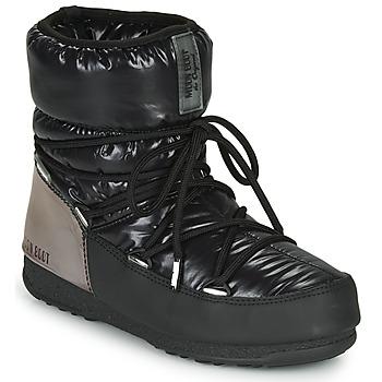 Chaussures Femme Bottes de neige Moon Boot MOON BOOT LOW ASPEN WP Noir