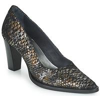 Chaussures Femme Escarpins Myma  Noir / Doré