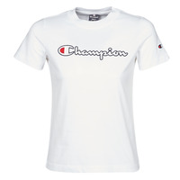 Vêtements Femme T-shirts manches courtes Champion ATHLETIC JERSEY COMBED Blanc