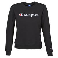 Vêtements Femme Sweats Champion HEAVY COMBED COTTON FLEECE Noir