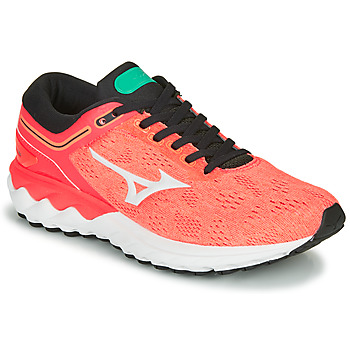 Chaussures Femme Running / trail Mizuno WAVE SKY RISE Corail