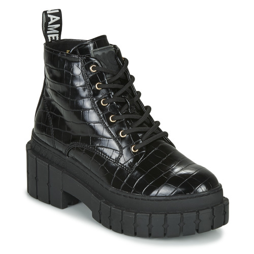 Chaussures Femme Boots No Name KROSS LOW BOOTS Noir