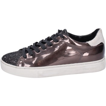 Chaussures Femme Baskets basses Crime London sneakers cuir synthétique bronze