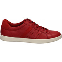 Chaussures Femme Baskets basses Ecco LEISURE red-tomato