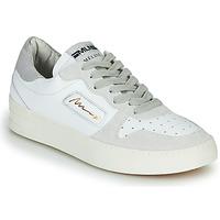 Chaussures Femme Baskets basses Meline STRA-A-1060 Blanc / Beige