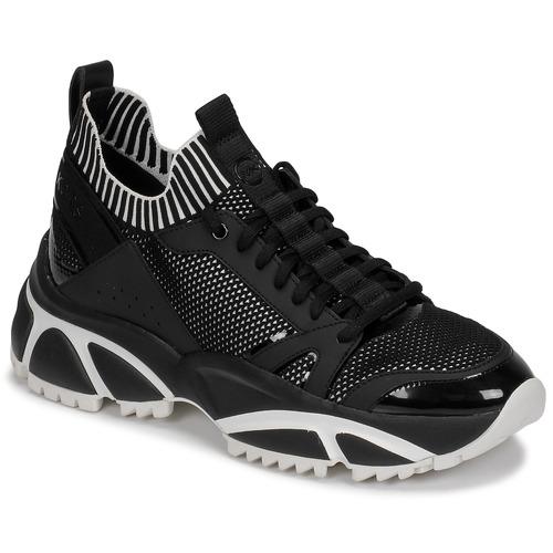 Chaussures Homme Baskets basses MICHAEL Michael Kors LUCAS Noir / Blanc