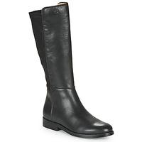 Chaussures Fille Bottes ville Acebo's 9864-NEGRO-T Noir