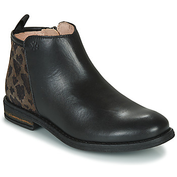 Chaussures Fille Boots Acebo's 8035SK-NEGRO-T Noir