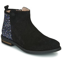 Chaussures Fille Boots Acebo's 8035-NEGRO-J Noir