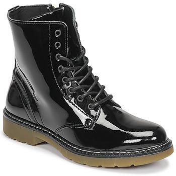 Chaussures Fille Boots Bullboxer AOL501E6LGBKPT Noir