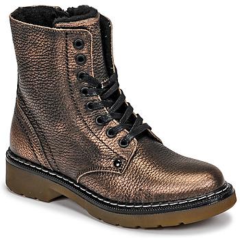 Chaussures Fille Boots Bullboxer AOL501E6LGCHAM Bronze