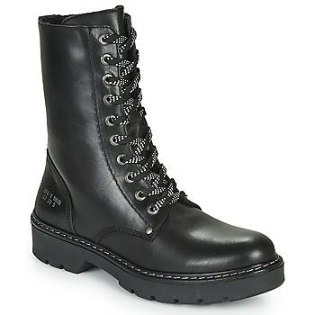 Chaussures Fille Boots Bullboxer AON523E6L-BKGY Noir