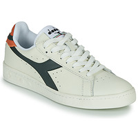 Chaussures Baskets basses Diadora GAME L LOW Blanc / Bleu