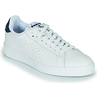 Chaussures Baskets basses Diadora GAME L LOW OPTICAL Blanc / Bleu