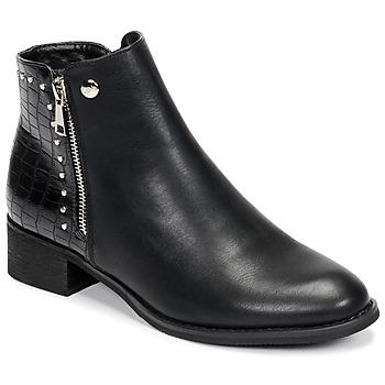Chaussures Femme Boots Les Petites Bombes ALINE Noir