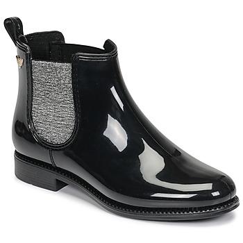Chaussures Femme Bottes de pluie Les Petites Bombes RAIN Noir