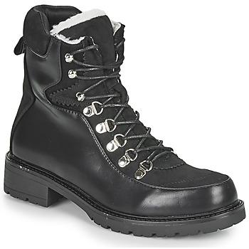 Chaussures Femme Boots Les Petites Bombes ALANNA Noir