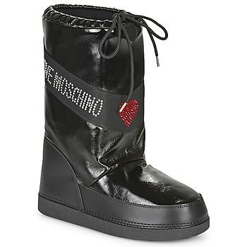 Chaussures Femme Bottes de neige Love Moschino JA24022G1B Noir