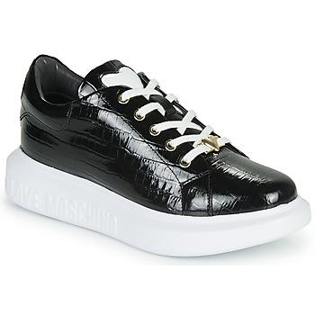 Chaussures Femme Baskets basses Love Moschino JA15494G0B Noir
