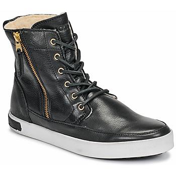 Chaussures Femme Baskets montantes Blackstone CW96 Noir
