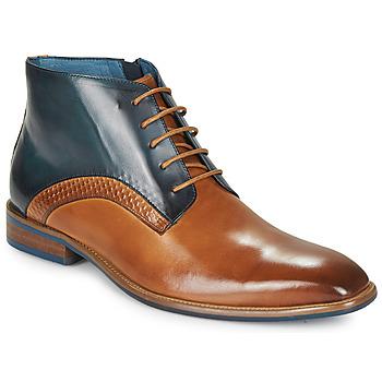 Chaussures Homme Boots Kdopa HARRIS Cognac / Bleu