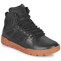 Chaussures Homme Baskets montantes DC Shoes PURE HIGH TOP WR BOOT Noir