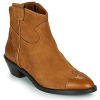 Chaussures Femme Bottines See by Chloé VEND Cognac