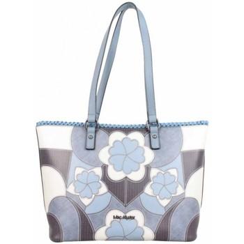 Sacs Femme Cabas / Sacs shopping Mac Alyster Sac shopping  Impression bleu motif fleur bleu
