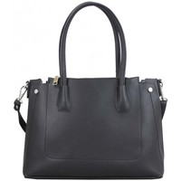 Sacs Femme Cabas / Sacs shopping Fuchsia Sac  déco couture sellier Noir Multicolor