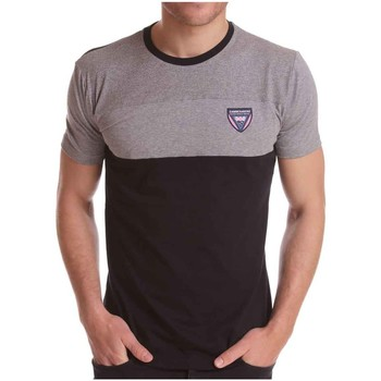 Vêtements Homme T-shirts manches courtes Camberabero Tee shirt rugby homme - Camber Noir