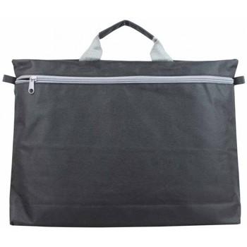 Sacs Porte-Documents / Serviettes A Découvrir ! Petit porte dossiers noir / gris Multicolor
