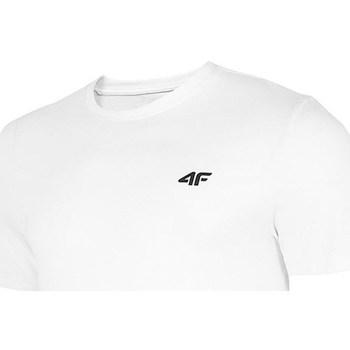 Vêtements Homme T-shirts manches courtes 4F TSM003 Blanc