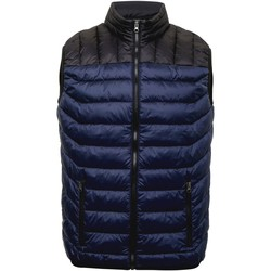 Vêtements Homme Doudounes 2786 TS028 Bleu marine / noir