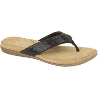 Chaussures Femme Tongs Cipriata  Noir