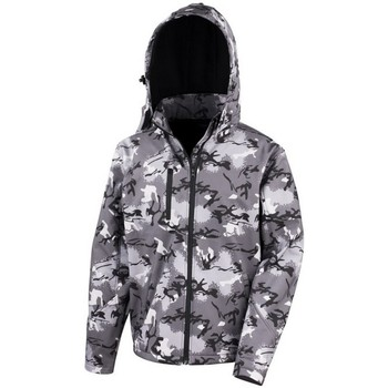 Vêtements Homme Coupes vent Result R235X Gris camouflage