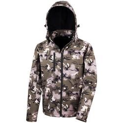 Vêtements Homme Coupes vent Result R235X Vert camouflage