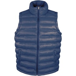 Vêtements Homme Doudounes Result R193M Bleu marine