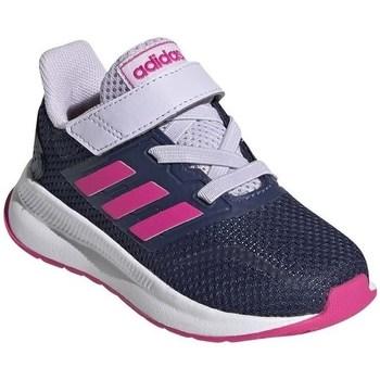Chaussures Enfant Running / trail adidas Originals Runfalcon I Blanc,Bleu marine