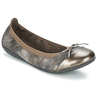Chaussures Femme Ballerines / babies LPB Shoes CAPRICE METAL Gris
