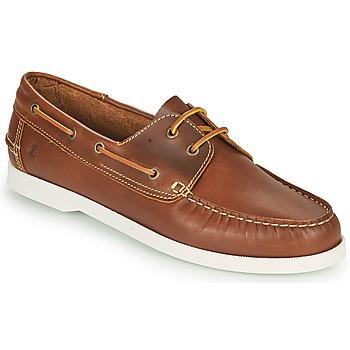 Chaussures bateau Casual Attitude REVORO Marron 350x350