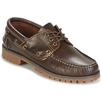 Chaussures Homme Chaussures bateau Casual Attitude EVEROA Marron