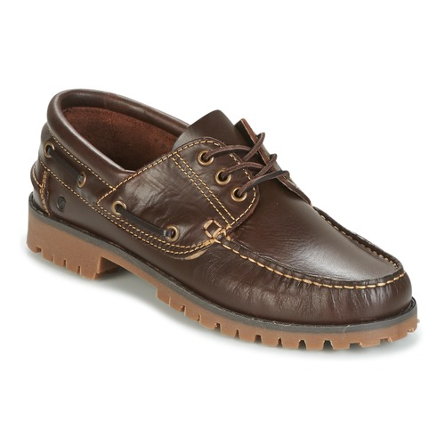 Chaussures Attitude Everoa Bateau Casual Marron Homme CQrthxBsd