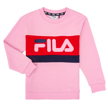 Vêtements Fille Sweats Fila CARL Rose
