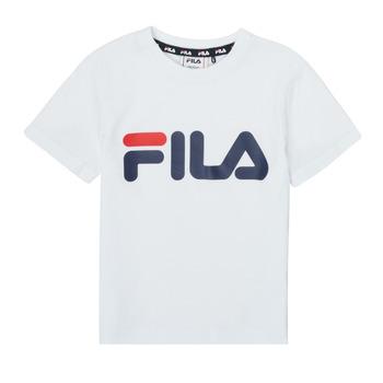 Vêtements Enfant T-shirts manches courtes Fila LEA Blanc