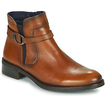 Chaussures Femme Boots Dorking TIERRA Marron