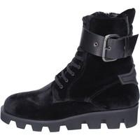 Chaussures Femme Bottines Roberto Botticelli bottines velours noir